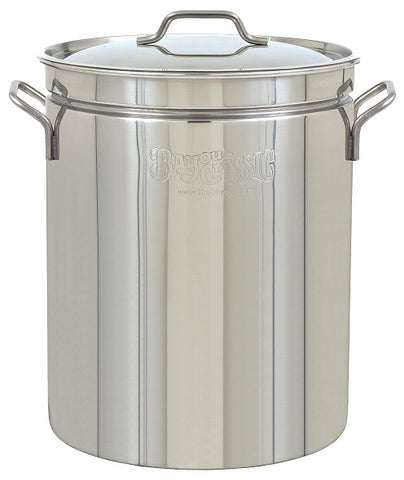 Bayou Classic Stainless Steel Stockpot Only (No Basket)