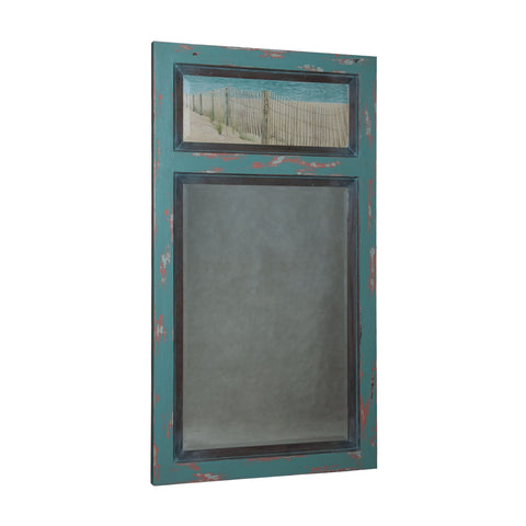 Guildmaster GUI-104510 Vincent Collection Sea Plant,Waterfront Grey Finish Mirror
