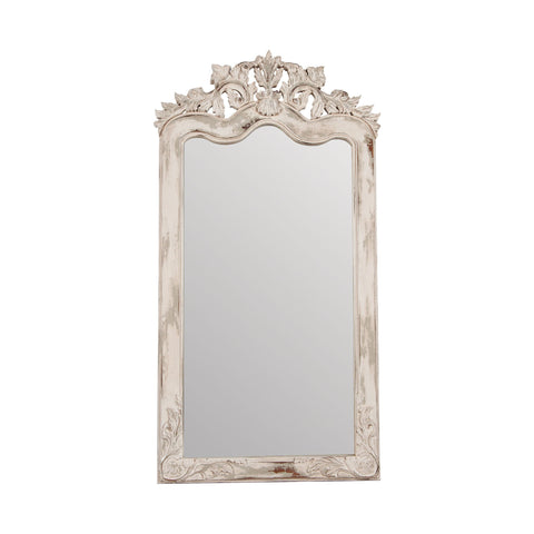 Guildmaster GUI-105014CEW Crossroads Florentine Collection Crossroads European White Finish Mirror