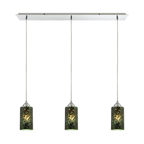 ELK Lighting 10504/3LP Illusions Collection Polished Chrome Finish - PeazzLighting