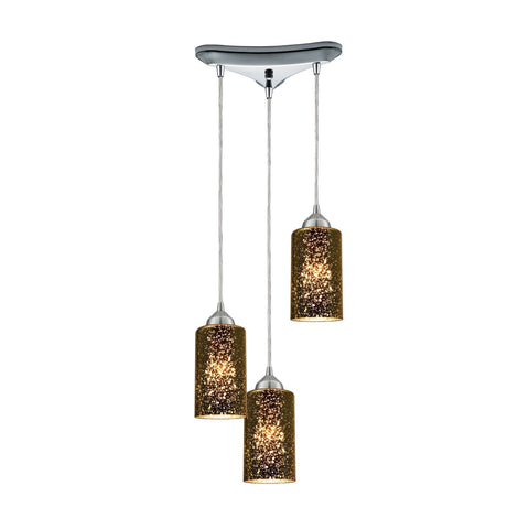 ELK Lighting 10505/3 Illusions Collection Polished Chrome Finish - PeazzLighting