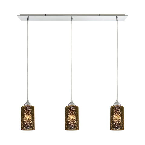 ELK Lighting 10505/3LP Illusions Collection Polished Chrome Finish - PeazzLighting
