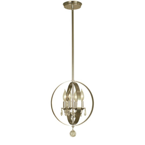 Framburg 1050-PN 4-Light Polished Nickel Constellation Pendant