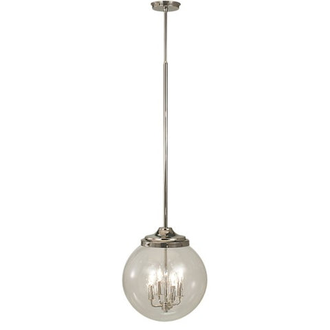 Framburg 1056-PS 4-Light Polished Silver Moderne Pendant