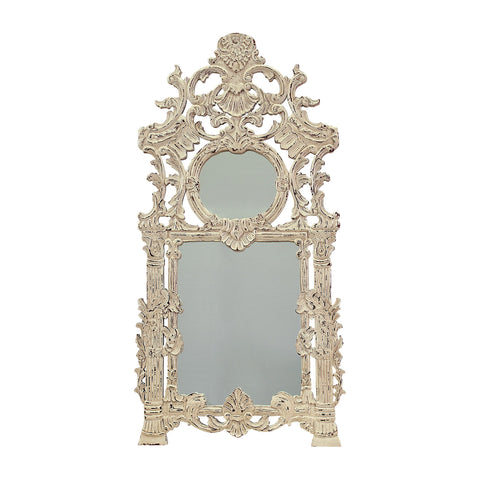 Guildmaster GUI-106010 Two Connection Collection Signature Antique White Finish Mirror