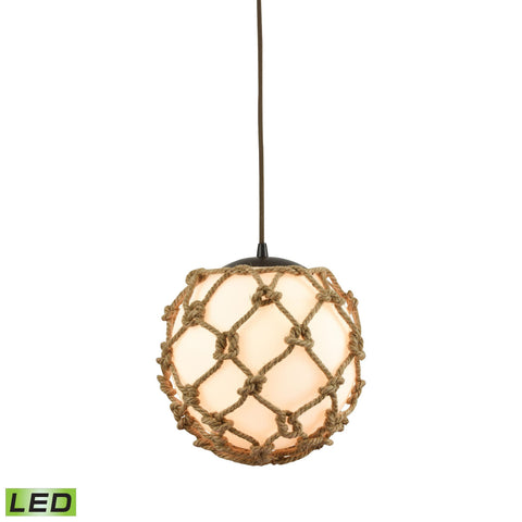 ELK Lighting 10710/1-LED Coastal Inlet Collection Oil Rubbed Bronze Finish - PeazzLighting