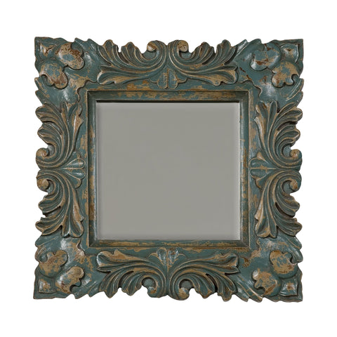 Guildmaster GUI-107516CC Baroque Collection Crossroads Cyan Finish Mirror