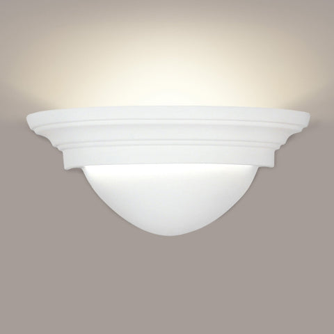A19 107-CFL13-MB1 Islands of Light Collection Minorca/Majorca Ivory Black Marble Finish