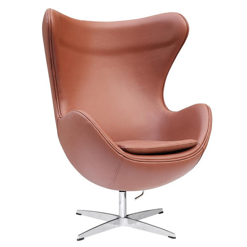 Fine Mod Imports FMI1131-ltbrown Inner Chair Leather, Light Brown - Peazz.com - 1