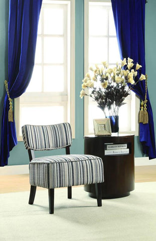 Homelegance 1191F1S Orson Collection Color Stripe Fabric - Peazz.com