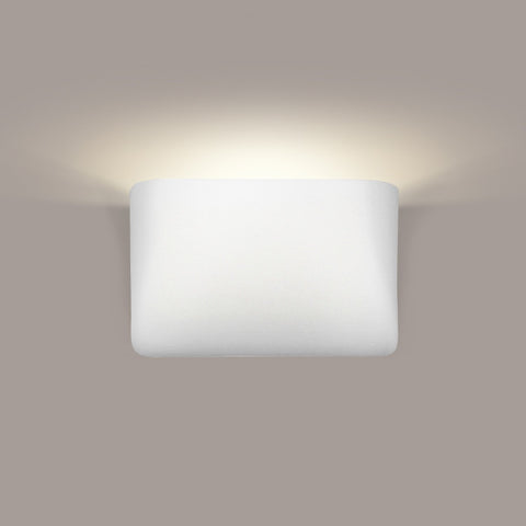 A19 1301-CFL13-MW Islands of Light Collection Balboa Matte White Finish