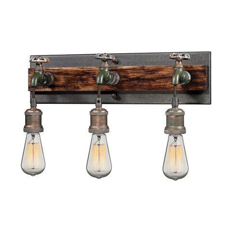 ELK Lighting 14282/3 Jonas Collection Multi-tone Weathered Finish - PeazzLighting