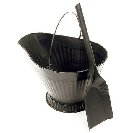 Landmann 1509 Coal Hod W/Shovel (Black) - Peazz.com