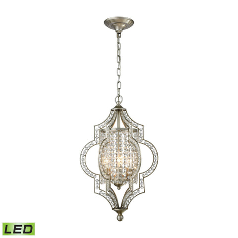 ELK Lighting 16270/3-LED Gabrielle Collection Aged silver Finish - PeazzLighting