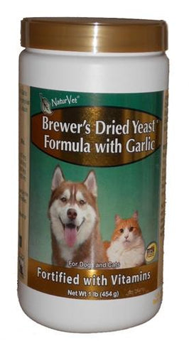 Natur Vet 16299 Brewer's Yeast & Garlic Powder, 1 lb - Peazz.com
