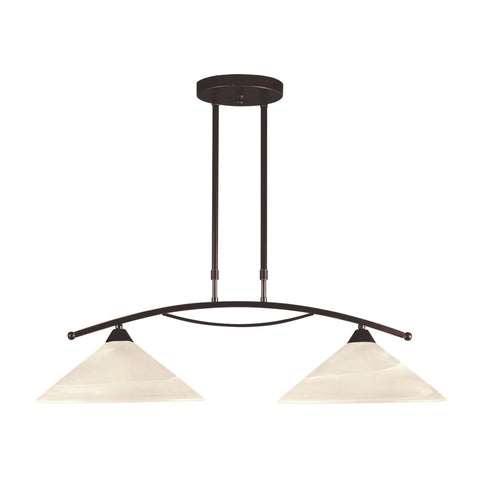 ELK Lighting 16551/2 Elysburg Collection Oil Rubbed Bronze Finish - PeazzLighting