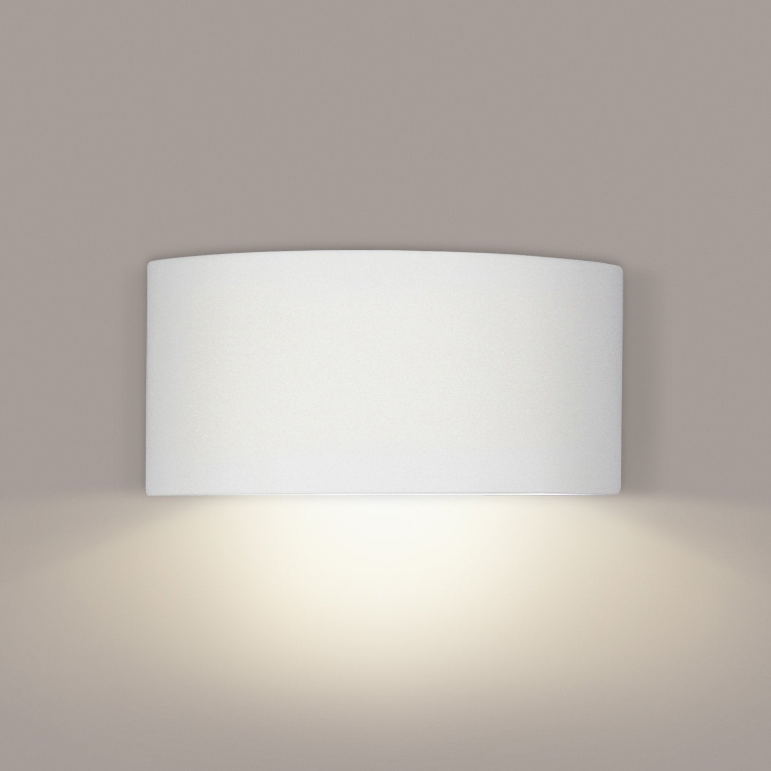 A19 1701-LEDGU24-PS Islands of Light Collection Krete Pistachio Finish Wall Sconce