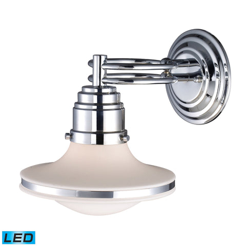 ELK Lighting 17050/1-LED Retrospectives Collection Polished Chrome Finish - PeazzLighting