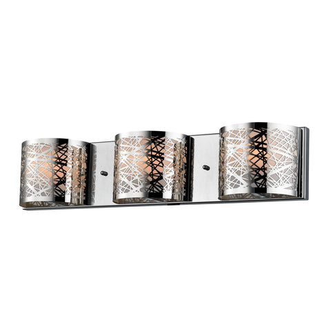 ELK Lighting 17182/3 Ventor Collection Polished Chrome Finish - PeazzLighting