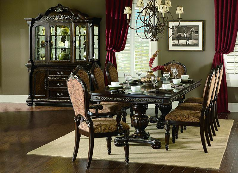 Homelegance Hill Collection Color Cherry Russian