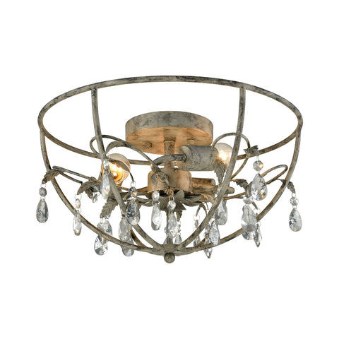 ELK Lighting 18211/3 Bridget Collection Marble Gray Finish - PeazzLighting