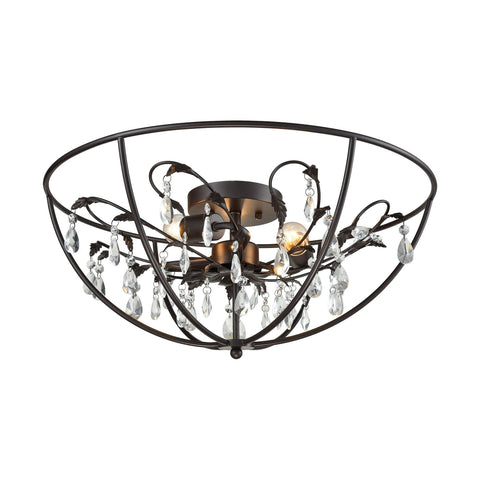 ELK Lighting 18222/3 Bridget Collection Oil Rubbed Bronze Finish - PeazzLighting