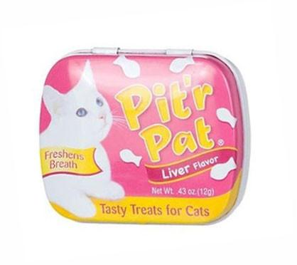Sergeant's 18284 Pit'r Pat Cat Breath Treats Liver, .43 oz - Peazz.com
