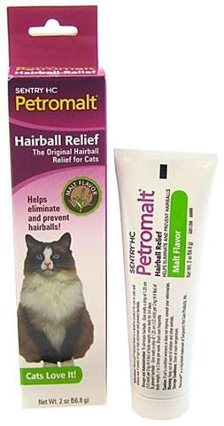 Sergeant's 18308 Petromalt Hairball Relief Malt, 2 oz - Peazz Pet