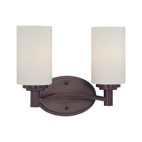 Thomas Lighting 190022719 Pittman Collection Sienna Bronze Finish Transitional Wall Sconce