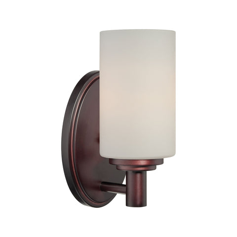 Thomas Lighting 190023719 Pittman Collection Sienna Bronze Finish Transitional Wall Sconce