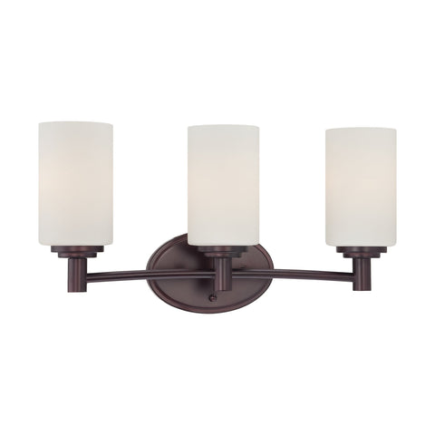 Thomas Lighting 190024719 Pittman Collection Sienna Bronze Finish Transitional Wall Sconce