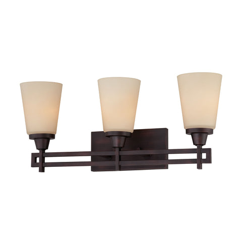 Thomas Lighting 190115704 Wright Collection Espresso Finish Traditional Wall Sconce
