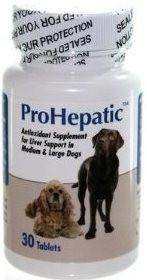 AHO 19090 ProHepatic Liver Support Medium Dogs, 30 Tablets - Peazz.com