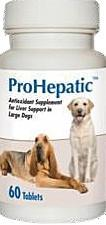AHO 19091 ProHepatic Liver Support Large Dogs, 30 Tablets - Peazz.com