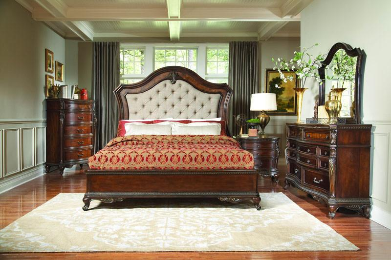 Park Collection Color Warm Cherry Bonaventure - Homelegance Collection Image