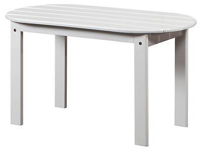 Linon 20154WHT-01-KD-U Adirondack White Coffee Table