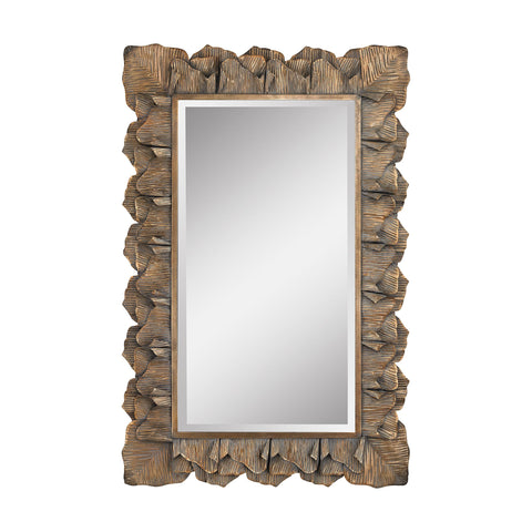 Guildmaster GUI-2100-001 Cheltenham Collection Aged Gold Finish Mirror