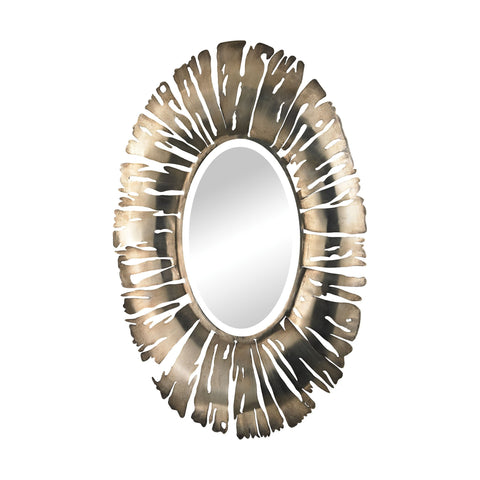 Guildmaster GUI-2100-007 Palais Collection Aged Silver Finish Mirror