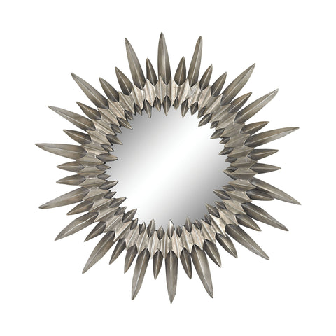 Guildmaster GUI-2100-008 Sunburst Collection Aged Silver Finish Mirror