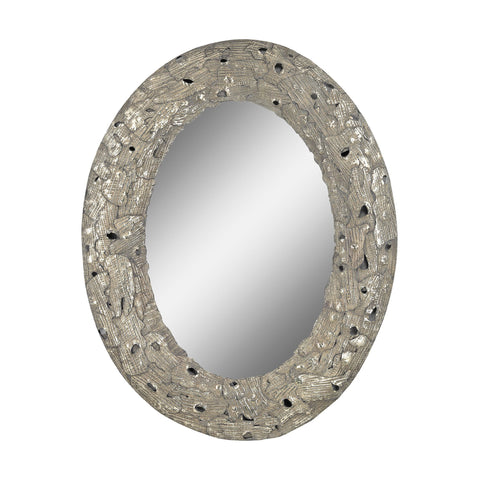 Guildmaster GUI-2100-009 Stephane Collection Aged Silver Finish Mirror