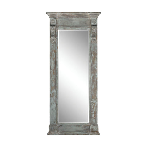 Guildmaster GUI-2100-021 Neo Classical Collection Aged Wood,Patina Finish Mirror
