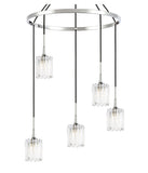 Woodbridge Lighting 21128CHR-C10490 Regent Park 5-light Pendant Chandelier