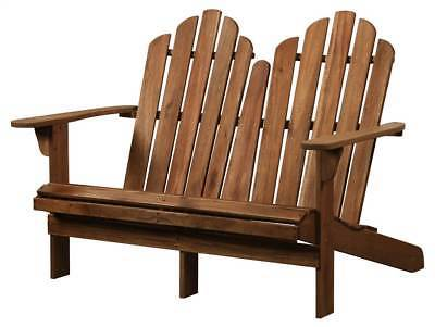 Linon Double Bench Adirondack