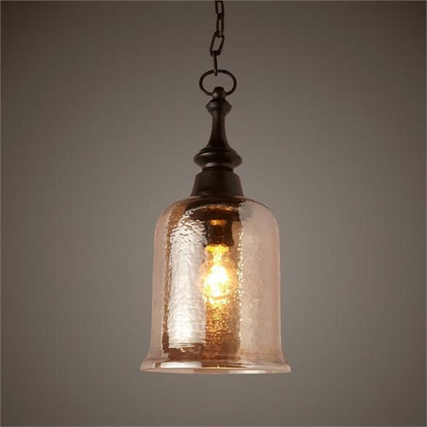 Uttermost Lustre 1 Light Mini Pendant (22013) - UTMDirect