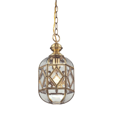 ELK Lighting 22025/1 Lavery Collection Brushed Brass Finish - PeazzLighting