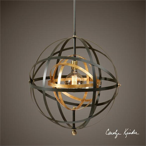 Uttermost Rondure 1 Light Sphere Pendant (22038) - UTMDirect