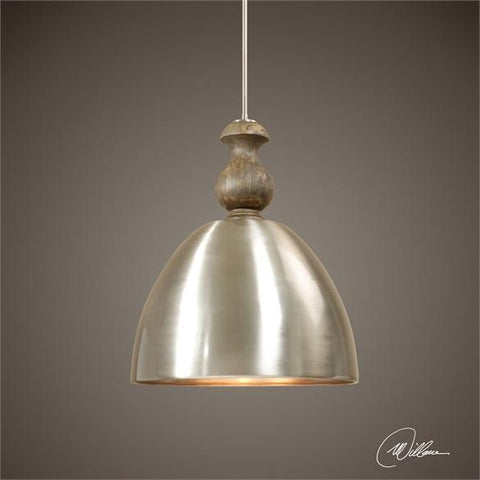 Uttermost Luna 3 Light Aluminum Pendant (22042) - UTMDirect