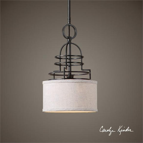 Uttermost Cupola 1 Light Mini Drum Pendant (22054) - UTMDirect