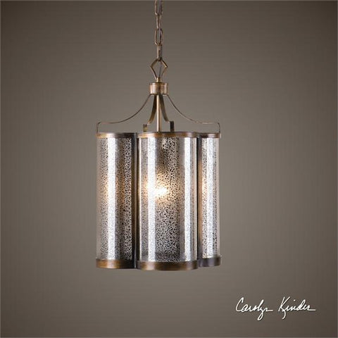 Uttermost Croydon 1 Light Mercury Glass Pendant (22061) - UTMDirect