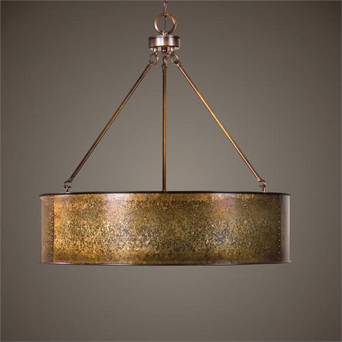 Uttermost Wolcott 5 Light Golden Pendant (22067) - UTMDirect